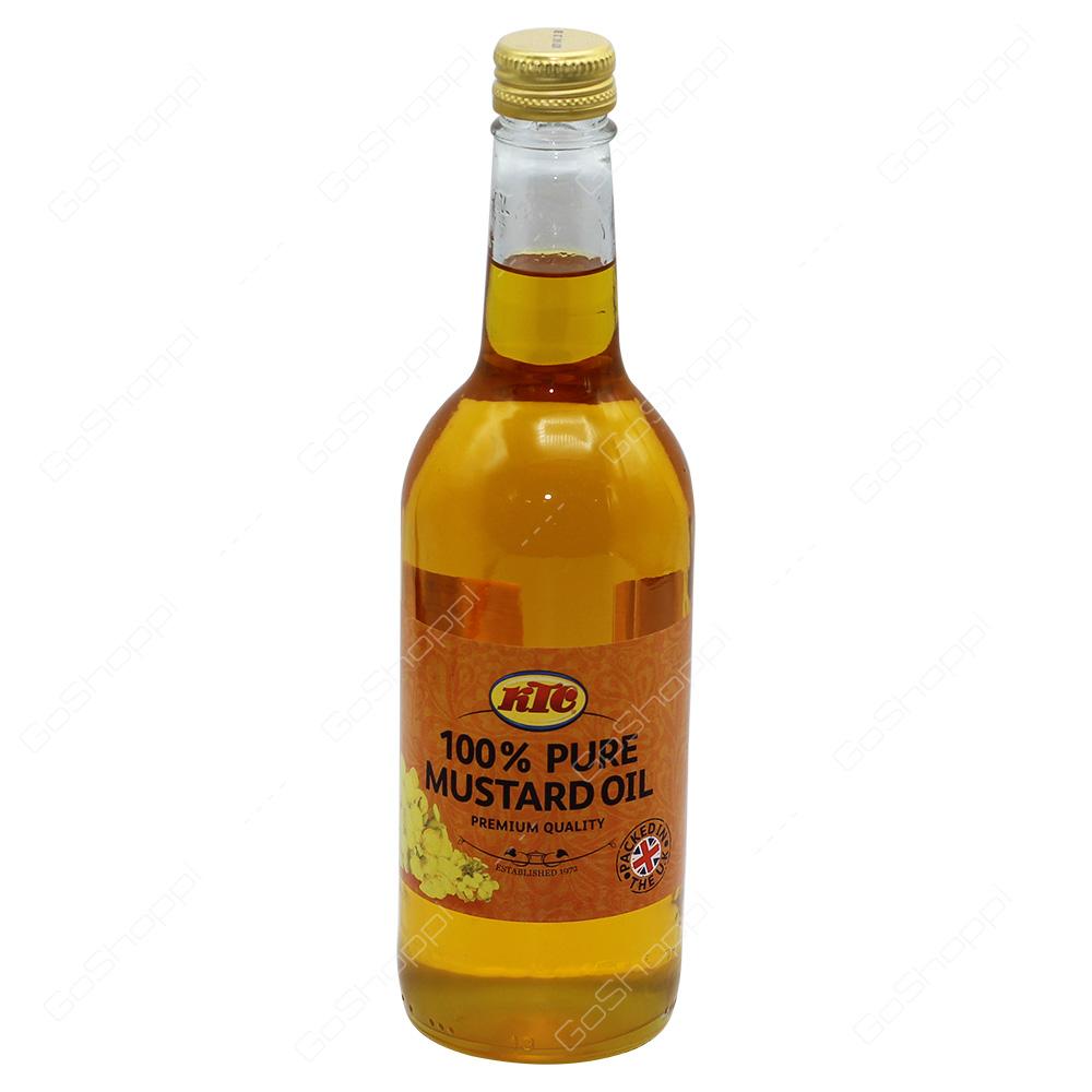 KTC 100% Pure Mustard Oil 500ml
