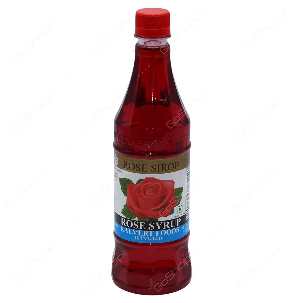 Kalvert Foods Rose Syrup 700ml