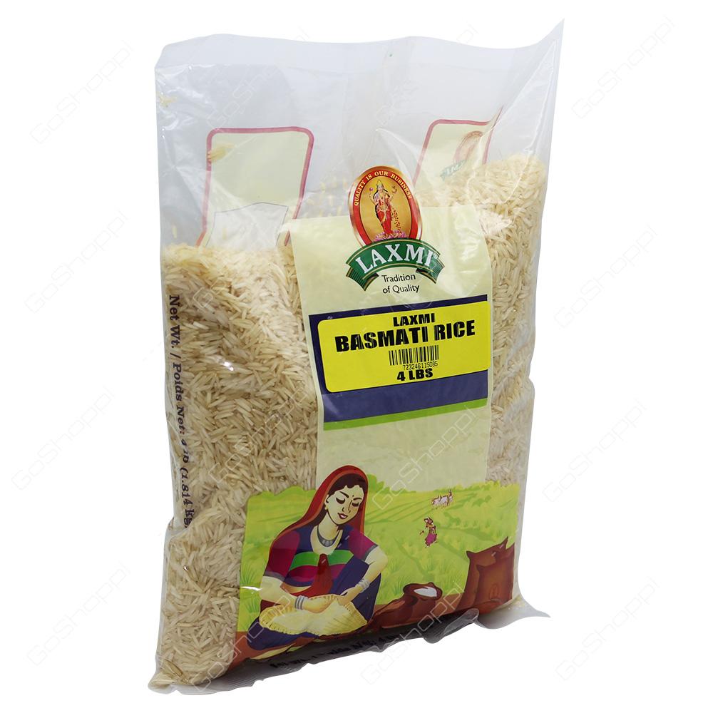 Laxmi Basmati Rice 4lb