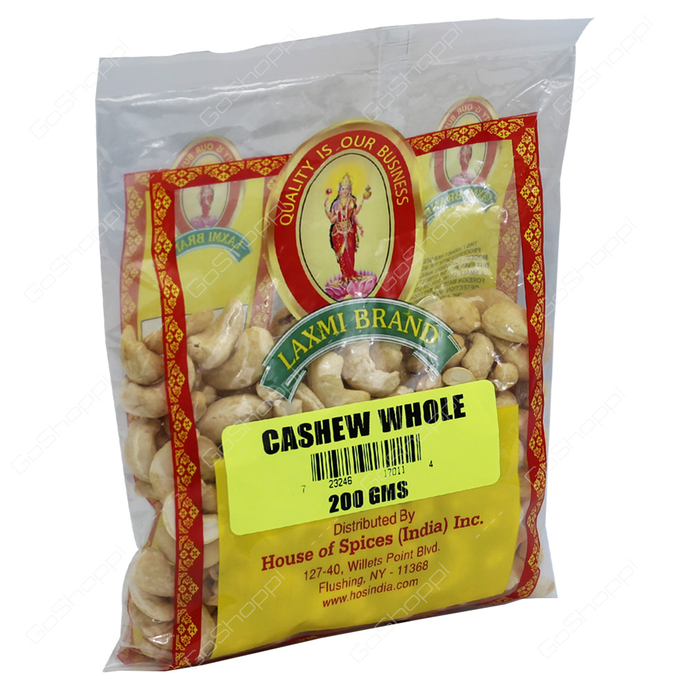 Laxmi Cashew Whole 200g