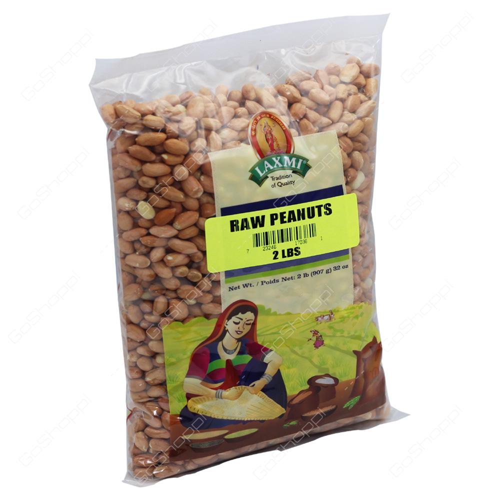 Laxmi Raw Peanuts 2lb
