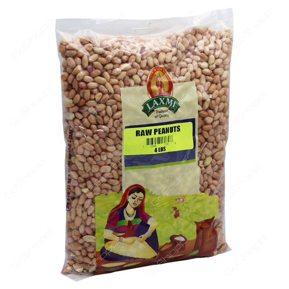 Laxmi Raw Peanuts 4lb
