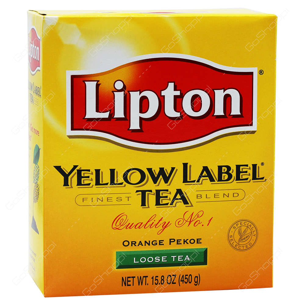 Lipton Yellow Label Tea LooseTea 450g