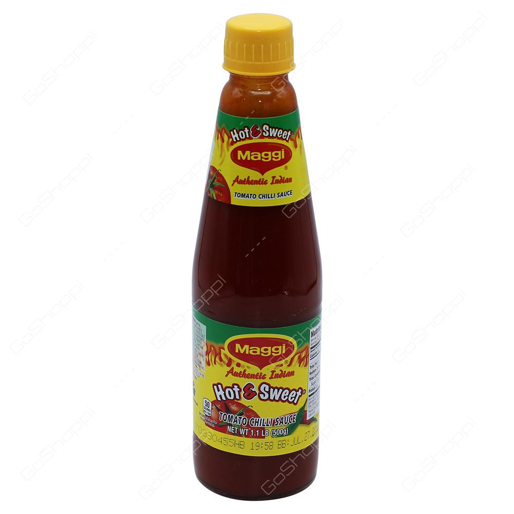 Maggi Hot & Sweet Tomato Chilli Sauce 500g