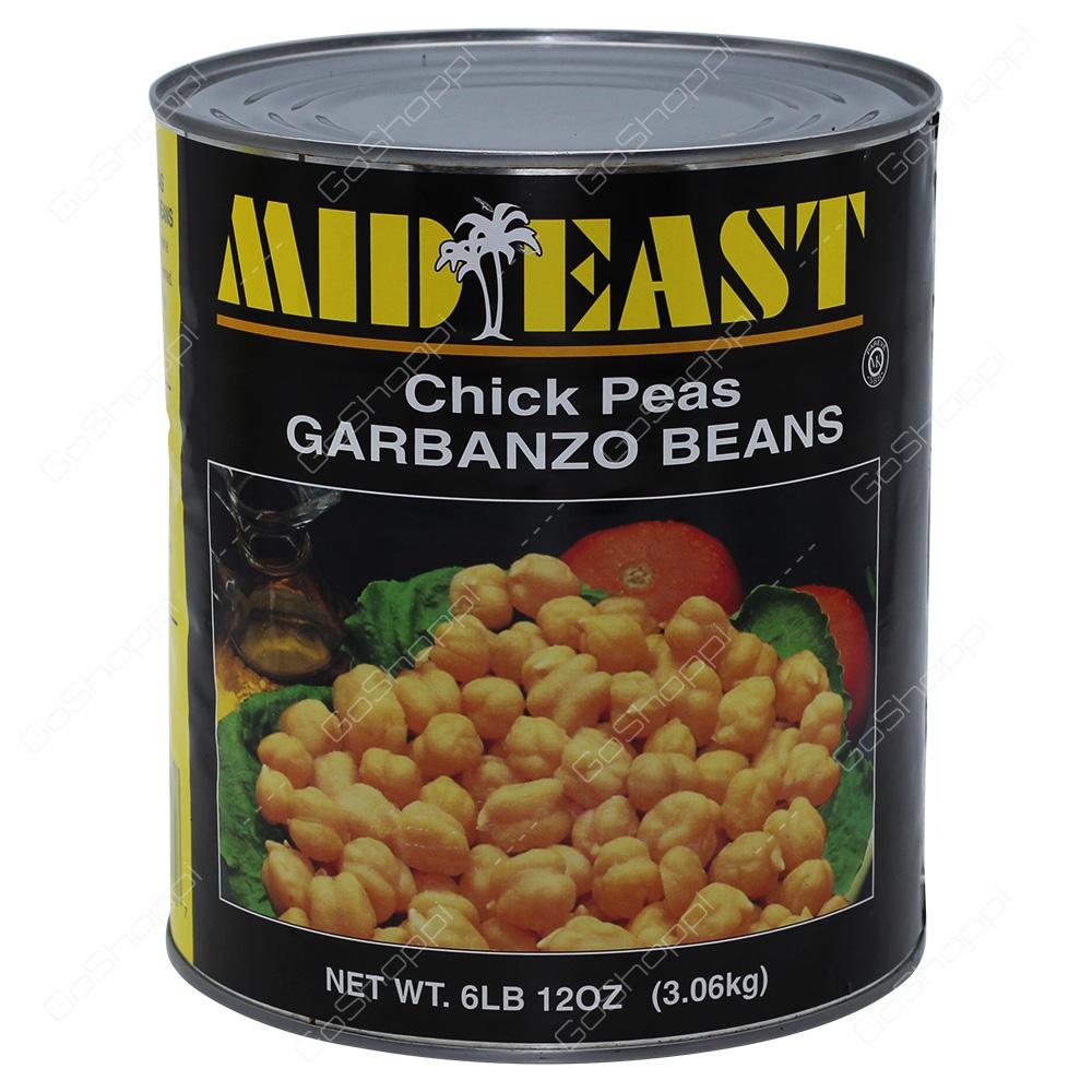 Mid East Chick Peas 3.06kg