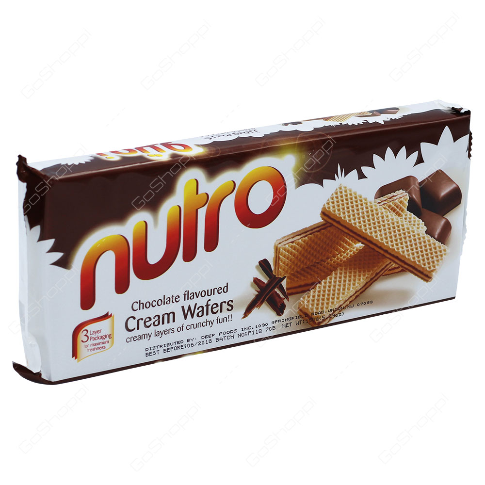 Nutro Chocolate Flavoured Cream Wafers 150g