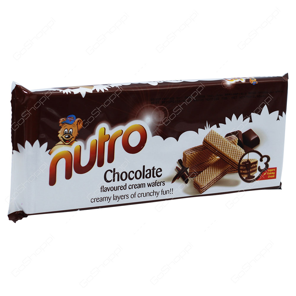 Nutro Chocolate Flavoured Cream Wafers 75g
