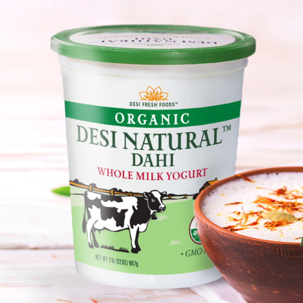 Organic Desi Natural Dahi Whole Milk Yogurt