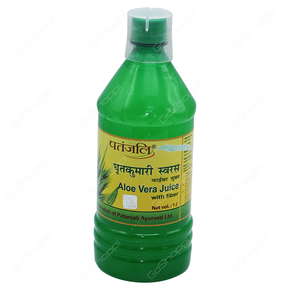 Patanjali Aloe Vera Juice with Fiber 1l
