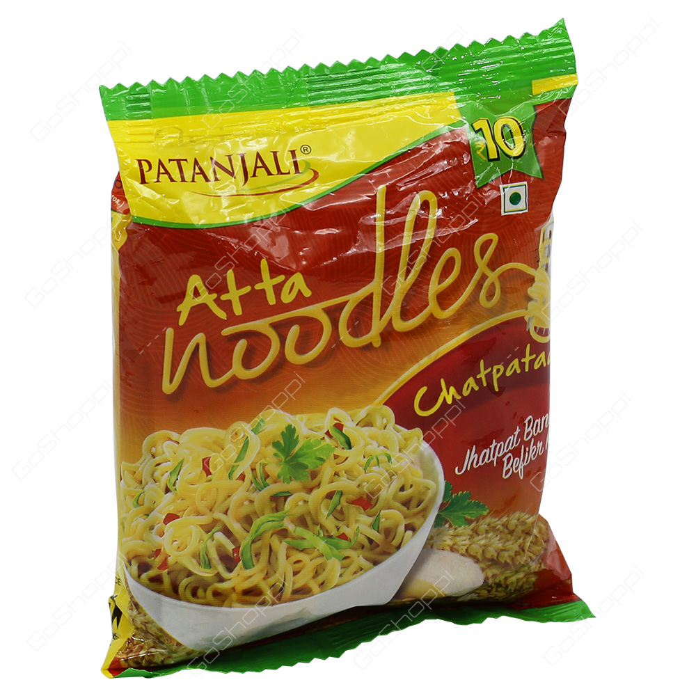 Patanjali Atta Noodles Chatpataa 60g