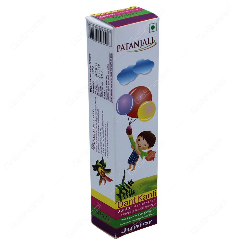 Patanjali Dant Kanti Junior Dental Cream 100g