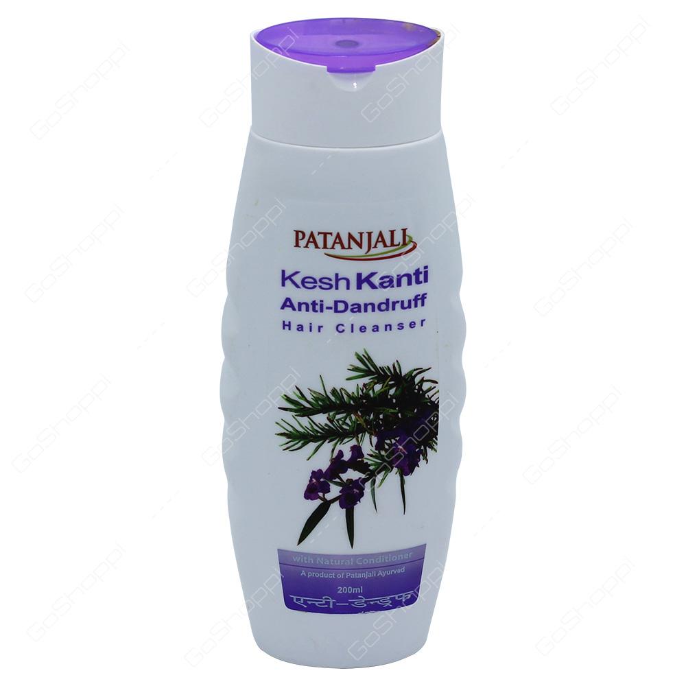 Patanjali Kesh Kanti Anti-Dandruff Hair Cleanser 200ml