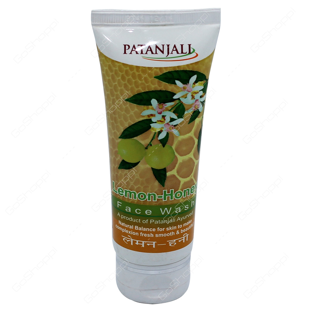 Patanjali Lemon Honey Face Wash 60g