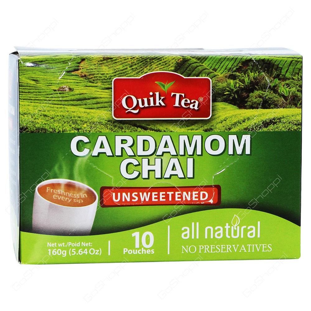Quik Tea Cardamom Chai Unsweetened 160g