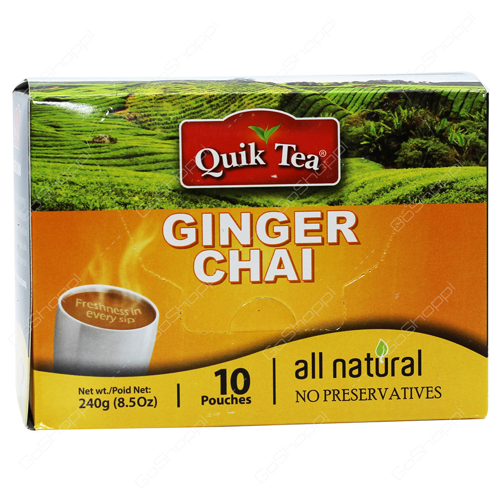Quik Tea Ginger Chai 240g