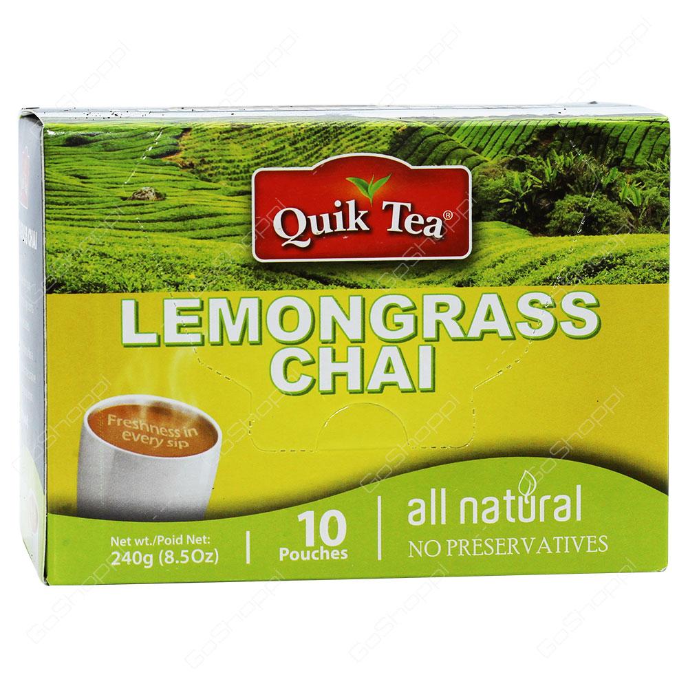 Quik Tea Lemongrass Chai 240g