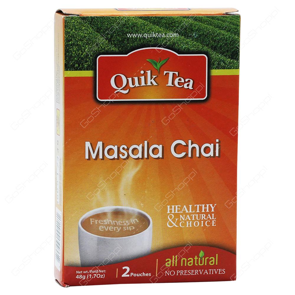 Quik Tea Masala Chai 48g