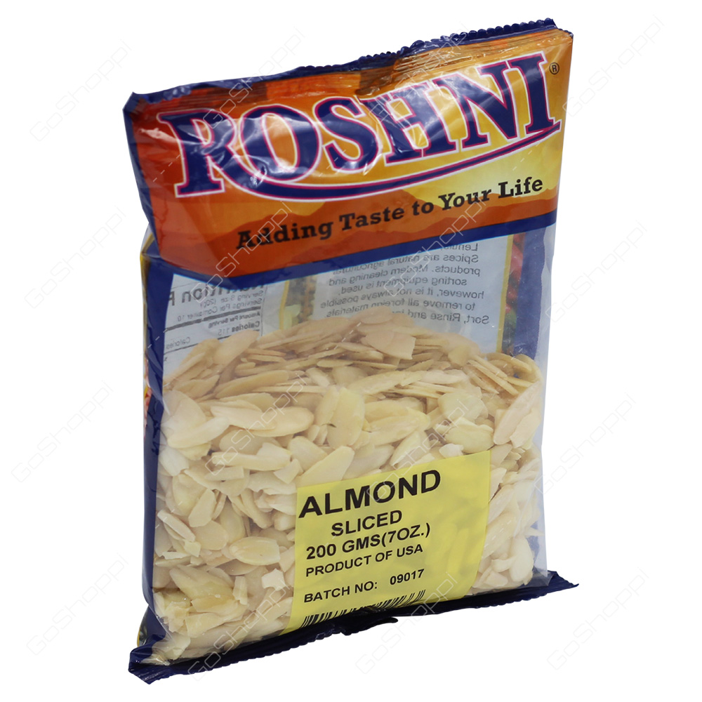 Roshni Almond Sliced 200g