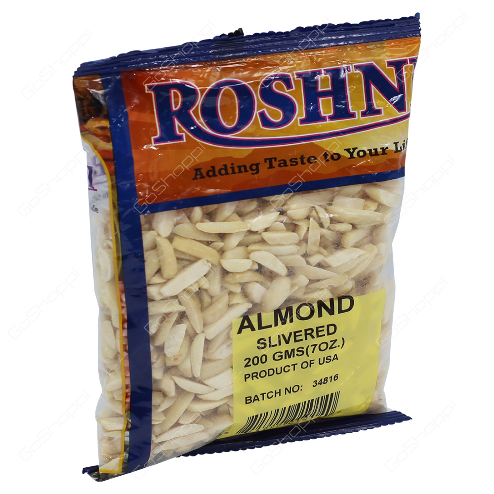 Roshni Almond Slivered 200g
