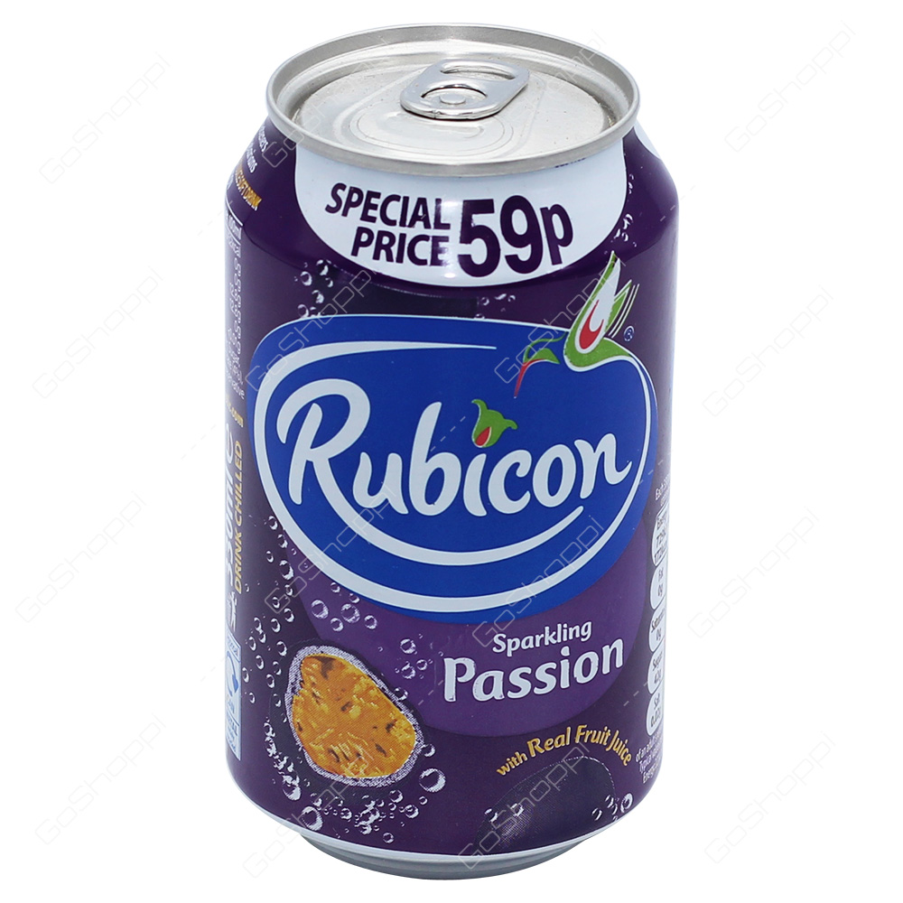Rubicon Sparkling Passion Drink 330ml