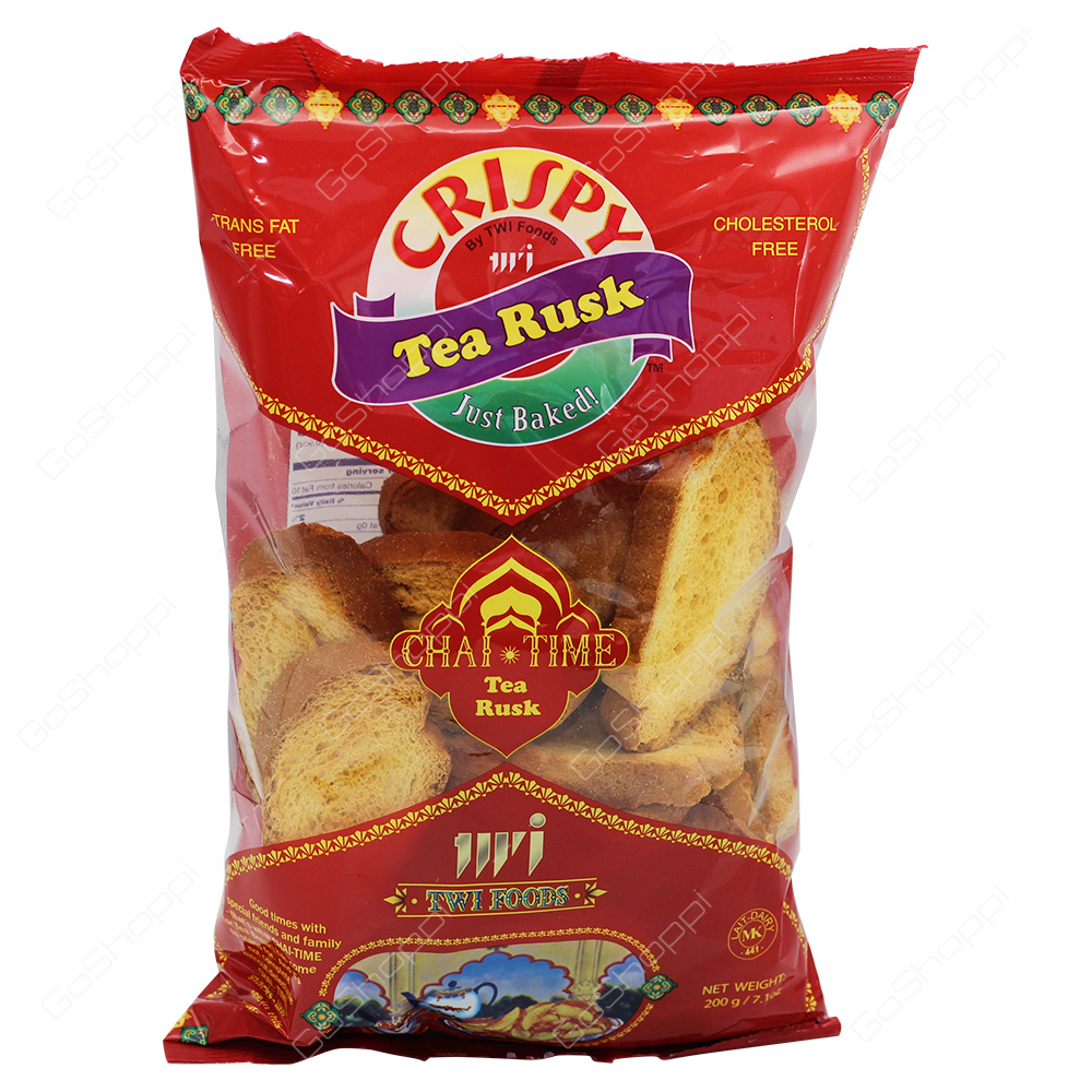 TWI Foods Crispy Chai Time Tea Rusk 200g