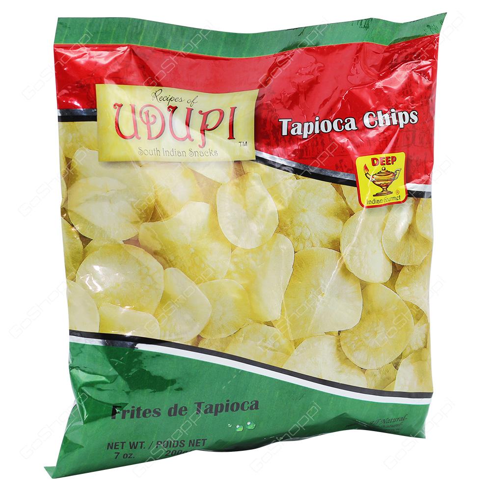 Udupi Tapioca Chips 200g