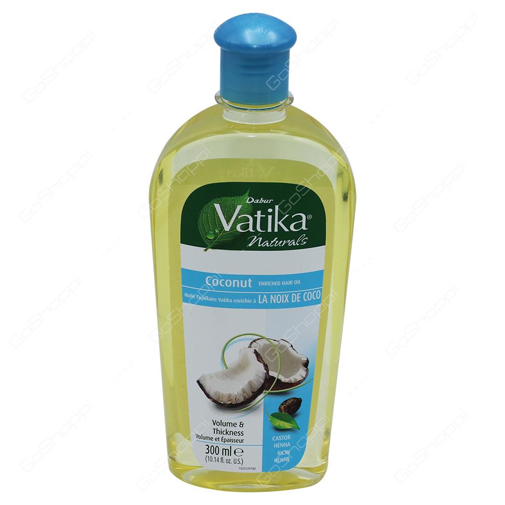 Vatika Coconut Oil 300ml