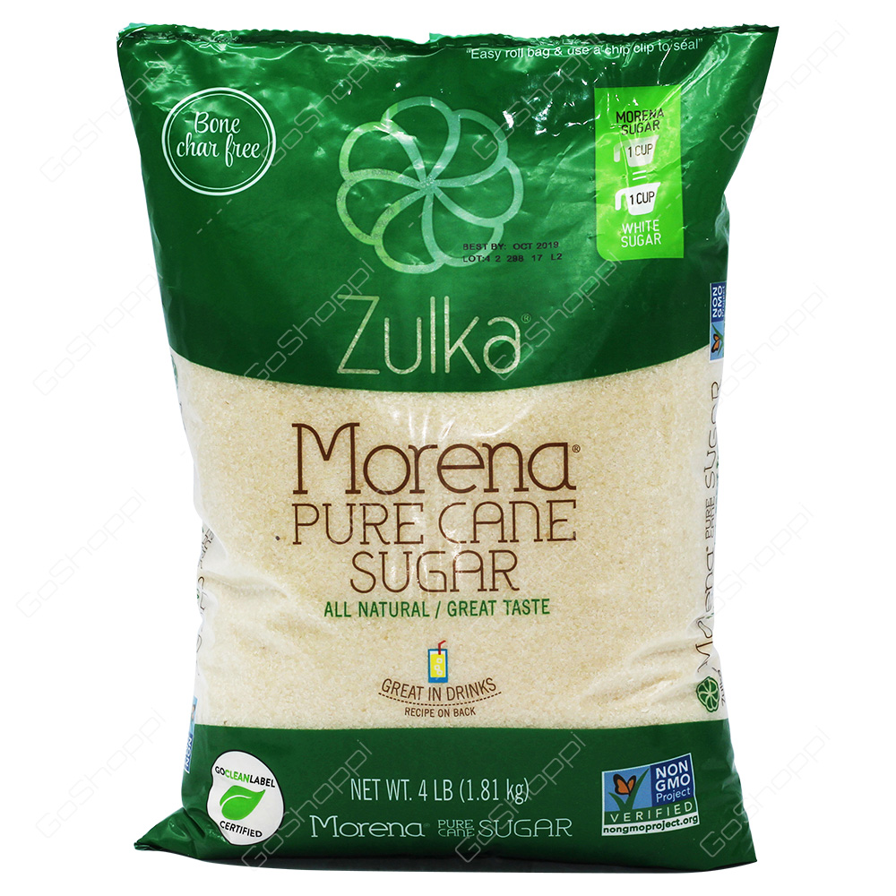 Zulka Morena Pure Cane Sugar 1.81kg