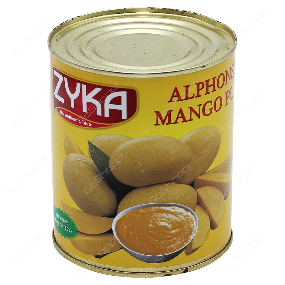 Zyka Alphonso Mango Pulp 850g