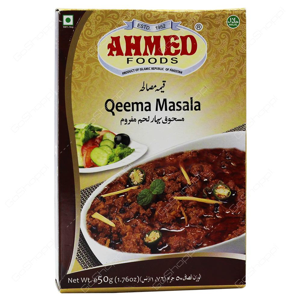 Ahmed Foods Qeema Masala 50g