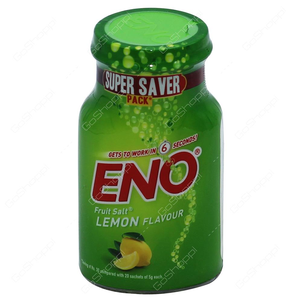 Eno Fruit Salt Lemon Flavour 100g